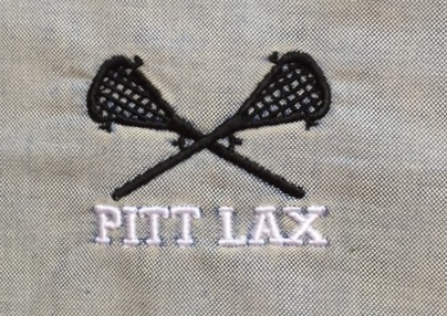 Sticks with white LAX letters