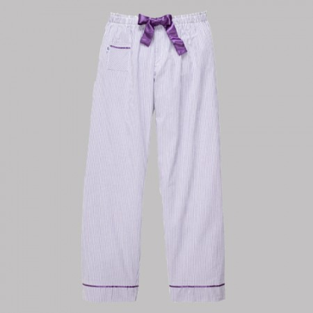 purple seersucker pants